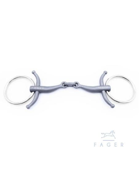Wędzidło CARL Titanium Baby Fulmer FAGER